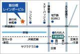 飯田橋レインボーアクセスMAP
