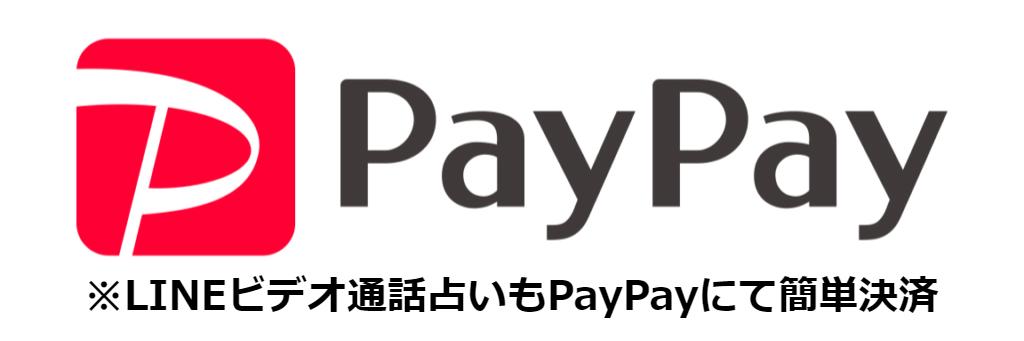 PayPay利用出来るようになりました!
