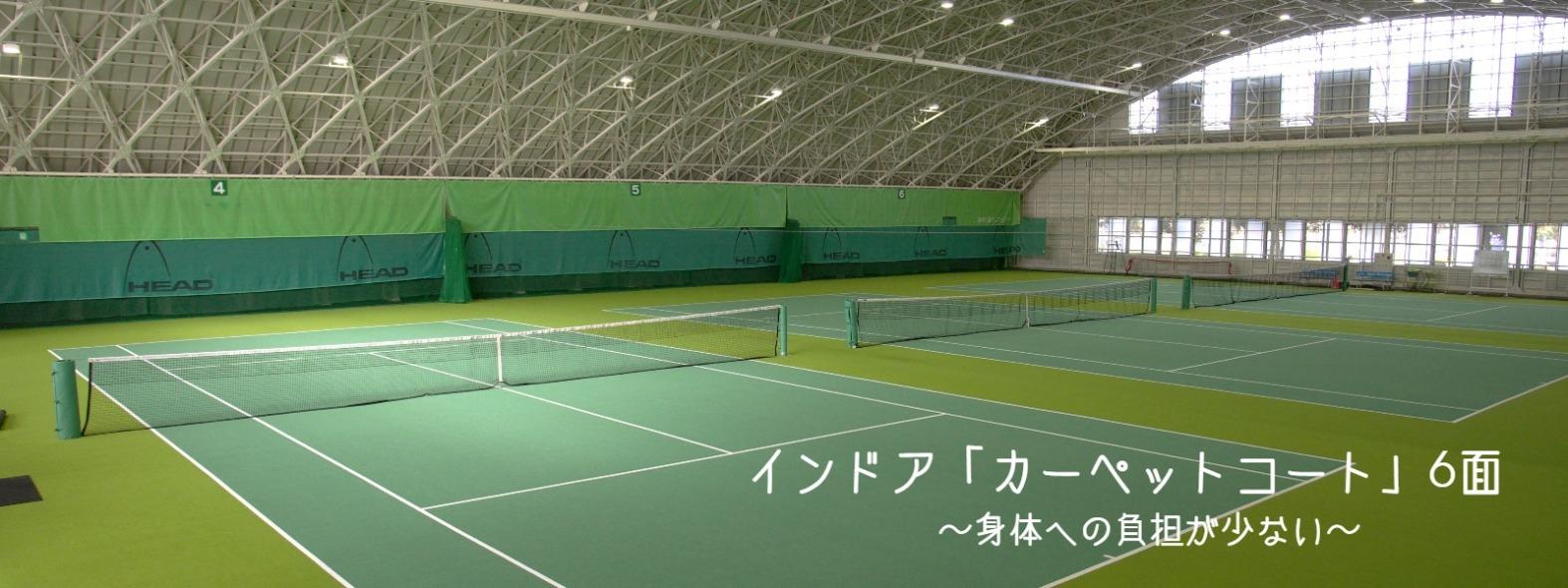 インドアコート カーペットコート 昭和の森テニスセンター(東京都昭島市)