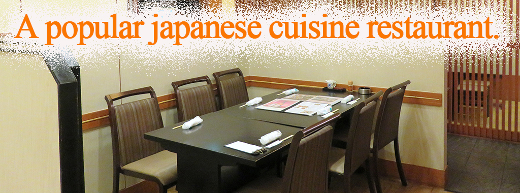 A popular japanese cuisine restaurant.