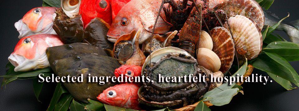 Selected ingredients, heartfelt hospitality.