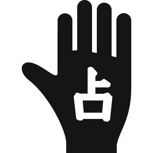 手相占い直感線(直感力・本質を見抜く能力を表す)